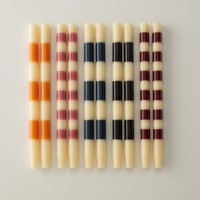 Ana Striped Candles