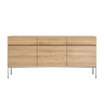 Ethnicraft Oak Ligna Sideboard -3 Door 3 Drawer