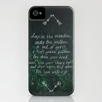 Rue's Song iPhone Case by Leah Flores | Society6