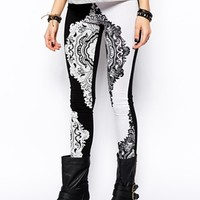 ASOS High Waisted Legging with Bandana Print