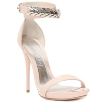 Metal Snake Ankle Strap Sandal Alexander McQueen | High Heels | Shoes |