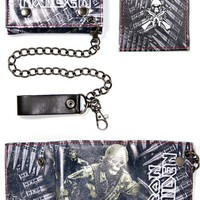 Iron Maiden Wallet - A Matter Of Life And Death