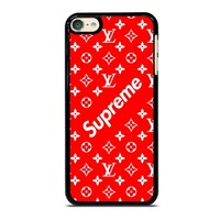NEW SUPREME RED PATTERN iPod Touch 6 Case Cover