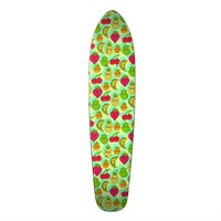 Kawaii Fruits Skateboard