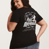 Pink Mermaid Cocktail Lounge V-Neck Tee