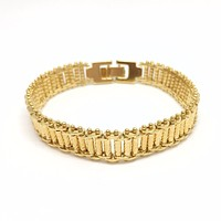 18k GL Fancy Diamantado Bracelet