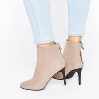 New Look | New Look High Ankle Heeled Boot at ASOS