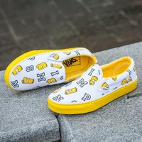 VANS X Peanuts Simpson Canvas Old Skool Flats Shoes Sneakers Sport Shoes