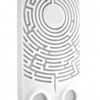 Wisdomaze Protective Silicone Case for iPhone 4 - 4s / With Built in Headphone Tidy Maze / Fun Gify Idea from Locomocean Ltd | Made By Locomocean Ltd | £4.94 | BOUF