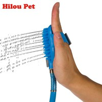 Pet Dog Cat Bathing Tool Friendly Massage for Dog Comfortable Shower Tool Cleaning Washing Bath Sprayers Pet Supplies