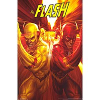 The Flash Professor Zoom DC Comics Poster 22x34