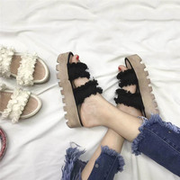 Summer  shoes women sandals platform slipper fashion