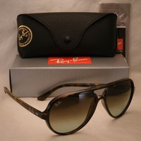 Ray Ban 4125 CATS 5000 Havana w Green/Brown Gradient Lens (RB4125 710/A6)
