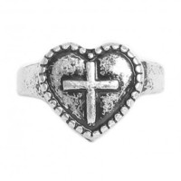 Sacred Heart Ring - Jewelry | GYPSY WARRIOR