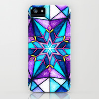 Stained Snowflake. iPhone & iPod Case by Emiliano Morciano (Ateyo)