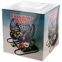 Bingo Drinking Game with Cage & Shot Glasses ( Case of 2 )
