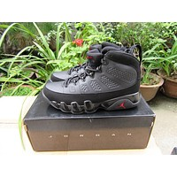 Air Jordan 9 Retro AJ9 Dark Gray Sneaker Shoe