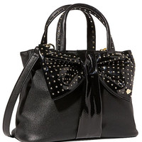 Betsey Johnson Bow Shopper Handle Bag