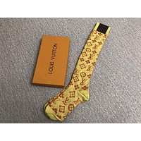 LV Lurex interlocking  socks