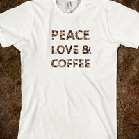 PEACE LOVE & COFFEE