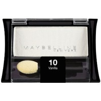 Maybelline New York Expert Wear Eyeshadow Singles, Vanilla 10S, 0.09 Ounce