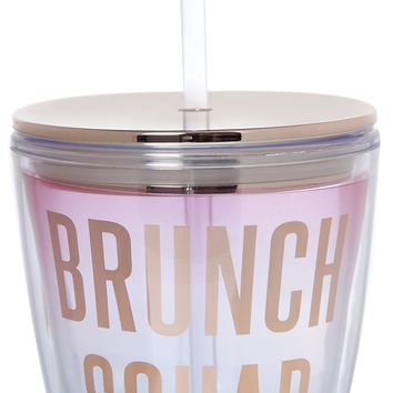 Brunch Squad Double-Wall Travel Tumbler - LAST ONE!