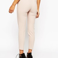 ASOS Ankle Grazer Cigarette Trouser in Crepe