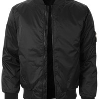 Mens Lightweight Classic Zip Up Bomber Jacket with Pockets (CLEARANCE)
