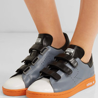 Adidas Originals - + Raf Simons Stan Smith Comfort perforated leather sneakers