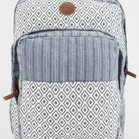 Roxy Camp Fire Womens Backpack Blue One Size For Women 26673405101
