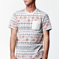 Stockton Floral Print Pocket T-Shirt