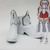 Sword Art Online SAO Asuna Yuuki Cosplay Shoes Custom made