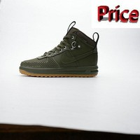 2018 Official NIKE LUNAR FORCE 1 DUCKBOOTnanotechnology outdoor trend shoes 805999 00 shoes