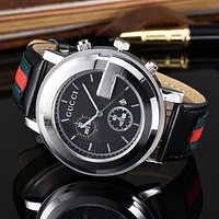G Woman Men Fashion Leather Watch Business Watches Wrist Watch