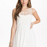 Lace Chest Dress, NLY Blush