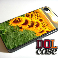Sunflower iPhone Case Cover|iPhone 4s|iPhone 5s|iPhone 5c|iPhone 6|iPhone 6 Plus|Free Shipping| Beta 330