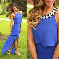 Round About Maxi Dress