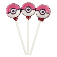 Pokemon Lollipops - Pokeball (10 Pieces)