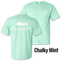 SCA Logo in Chalky Mint Comfort Colors™ - CLOSEOUT