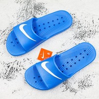 Nike Kawa Shower Royal White Slide Sandal Slipper - Best Deal Online