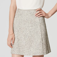 Edged Tweed Skirt | LOFT
