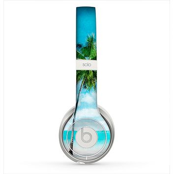 The Paradise Beach Palm Tree Skin for the Beats by Dre Solo 2 Headphones