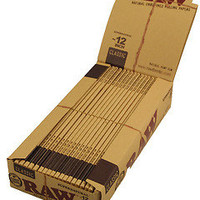 Extra Long Hemp Natural Raw Rolling Giant Super Kingsize Papers 12 inch Footlong