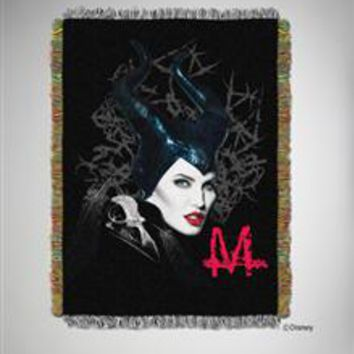 Maleficent Throw Blanket