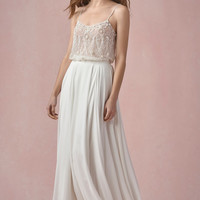 Willowby by Watters Pearl 55620M Bridal Tank (Lined)