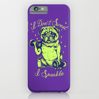 I Don't Sweat I Sparkle iPhone & iPod Case by Huebucket