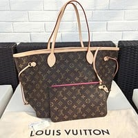 LV Louis vuitton special cabinet genuine shopping bag lady shoulder bag F