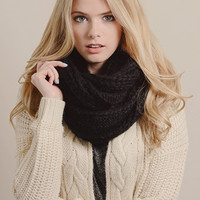 Polyester Woolen Warming Cute Knitted Scarf