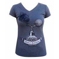 Deadly Nightshade Women's V-Neck T-Shirt by Annex Clothing
