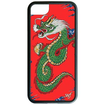 Wildflower Red Dragon iPhone 6/7/8 and 6/7/8 Plus Phone Case